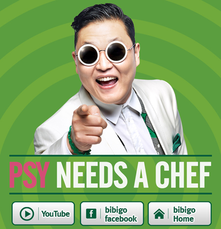 psy needs a chef