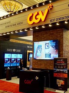CJ CGV captivates the world's cinema industry
