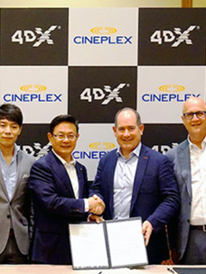 "CGV 4DX,在电影产业大会(CINEMACON)上接连签约的""喜讯""加速扩大市场的步伐"