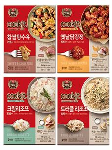 "CJ第一制糖,推出半烹饪方便食品""白雪Cookit"""
