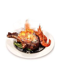 """VIPS releases """"Flambé Bone-in Rib-eye Steak"""""""
