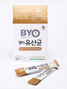 """CJ第一制糖,推出泡菜乳酸菌系列""""BYO多功效乳酸菌"""""""