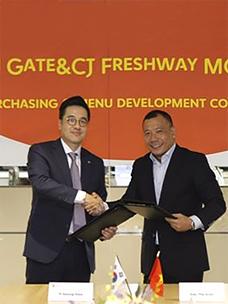 CJ Freshway,正式打入越南食材流通市场
