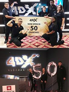 CGV 4DX,实现进军全世界50个国家的目标