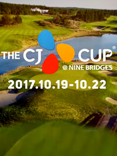 THE CJ CUP @ NINE BRIDGES. South Korea''s first official PGA TOUR competion
