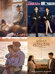 2018年tvN的热播剧《百日的郎君》、《金秘书为何那样》 前不久,水木剧《男朋友》还没播出就在美洲、欧洲、亚洲等全世界100多个国家抢先售出播放权,《百日的郎君》、《金秘书为何那样》也在100多个国家的有线电视和OTT等出售了播放权。《母亲》入围戛纳国际电视剧节(Canneseries)正式竞争部门,其作品性得到了认可。