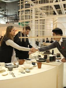 """""""Odense""""参加规模最大的消费品博览会""""HOMI"""",受到海外客商的好评。"""