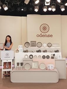 """台湾东森电视购物""""Odense""""节目录制现场"""
