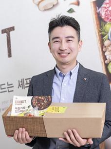"""负责Meal Kit""""COOKIT""""统管研发工作的Na Hyun-seok责任研究员"""