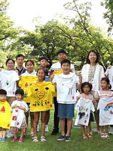 """CJ ENM O SHOPPING参与援助气候难民儿童""""希望T活动"""""""