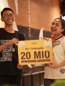 CGV印度尼西亚突破2千万观众纪念留影