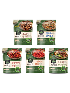 """Make banchan (side dishes) easily with just Bibigo Chan!"""