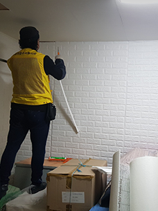 CJ大韩通运协助京畿道广州市17户家庭修缮房屋