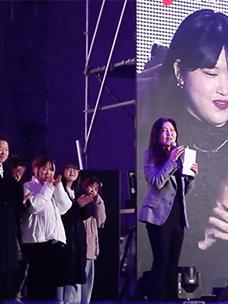 韩惠妍大师说的300分的时装秀ㅣ青少年文化社团时装美妆部门采访记录