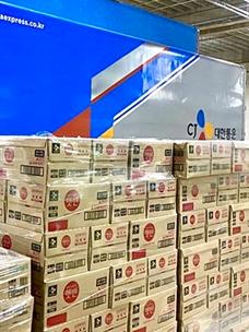 CJ第一制糖,为灾区送紧缺物资……支援1.2万个食品