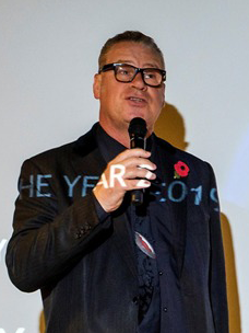 Film critic Mark Kermode who presented the Technology of the Year award at the CTC Awards 2019.