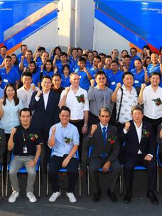 CJ大韩通运,泰国中心开业,扩展版图