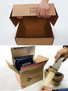 """""""在必环保时代倡导善良的包装"""",CJ ENM O SHOPPING部门凭借环保包装材料连续荣获环境部嘉奖"""