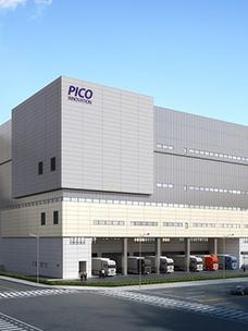 Bird's-eye view of PICO Innovation Smart Logistics Center